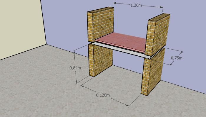 como construir parrilla 8 Cómo Construir una Parrilla   Parte II