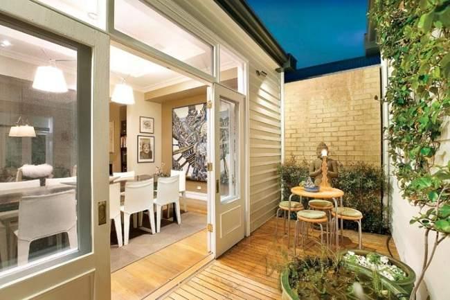 C mo crear un jard n privado primera parte for Decoracion de interiores patios internos