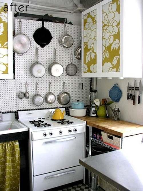 Ideas para decorar cocinas peque as - Cocinas pequenas con encanto ...