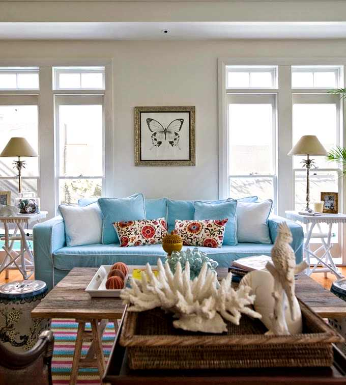 cómo decorar un interior con color y textiles