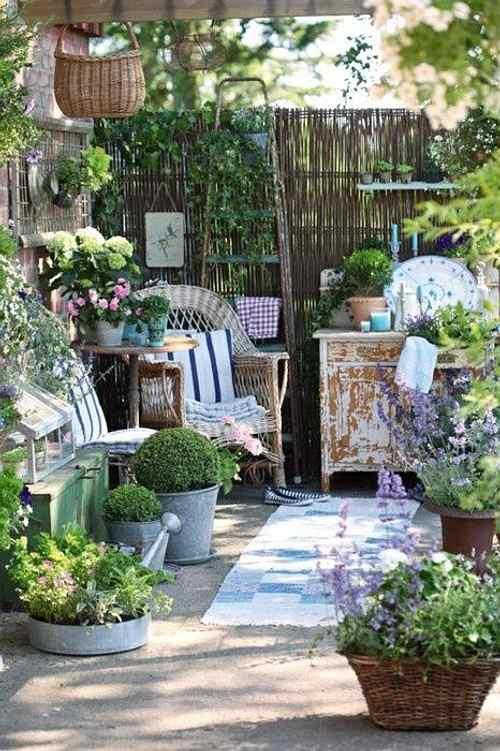 cmo decorar jardines y terrazas