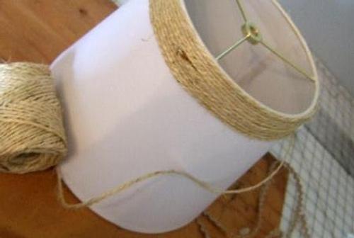 C mo decorar una l mpara con estilo r stico - Lamparas estilo rustico ...