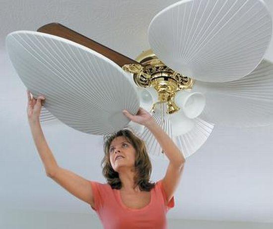 C mo decorar con un ventilador de techo for Como decorar un techo
