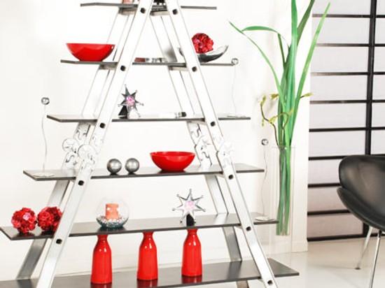 C mo hacer una estanter a escalera en casa for Como construir una escalera de metal