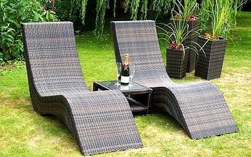 Limpieza de muebles de exterior de pl stico - Muebles de jardin de plastico ...