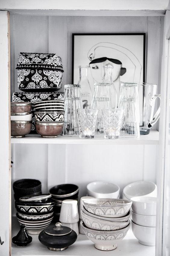 cómo mostrar loza o piezas artesanales