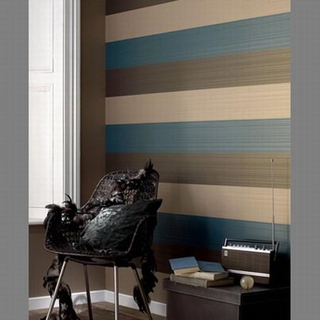 C mo pintar paredes a rayas primera parte - Pintar paredes a rayas horizontales ...