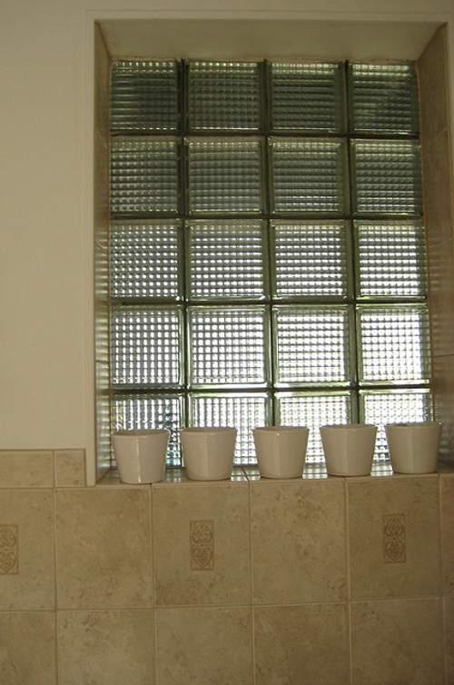 Construir y decorar con cristal pav s - Ladrillo de cristal ...