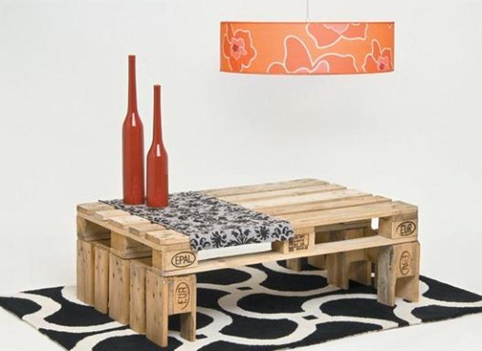 Construir una mesa con palets - Construir con palets ...