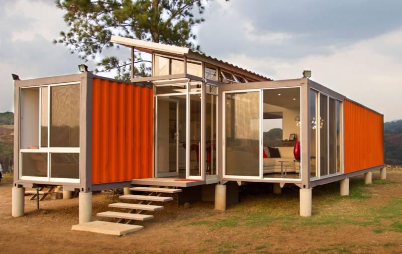 Arquitectura sostenible contenedores reconvertidos en - Arquitectura contenedores maritimos ...