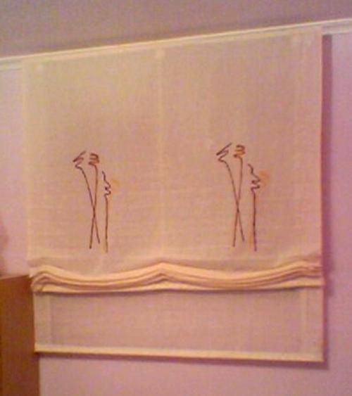 cortina estor Vestir una Ventana: Tipos de Cortinas