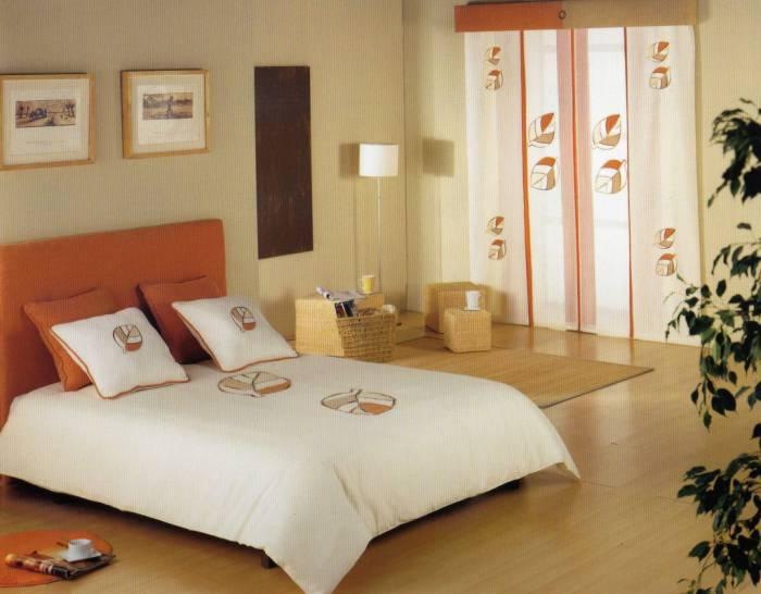 cortina panel japonés