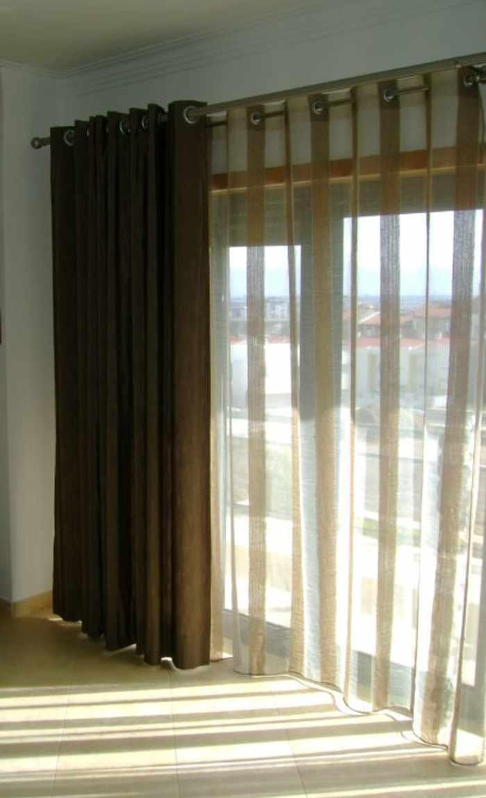 cortina y visillo