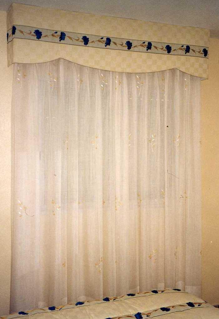 cortinas con bando