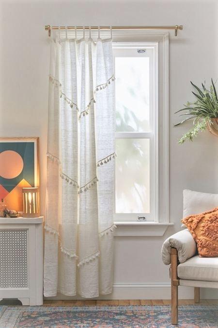 bricolaje en las cortinas