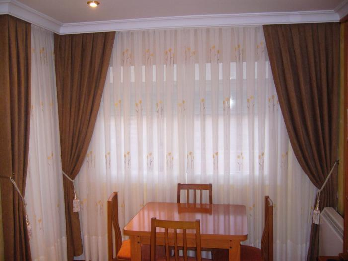 combinacion de cortinas