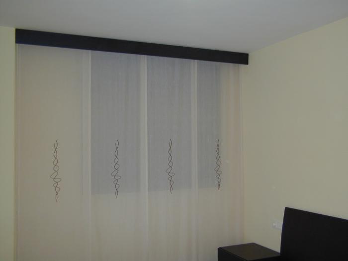 cortinas panel japones Vestir una Ventana: Tipos de Cortinas