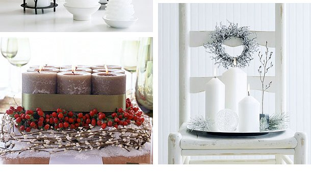 Ideas Para Decorar Un Baño Con Velas:Ideas Creativas para Decorar con Velas en Navidad