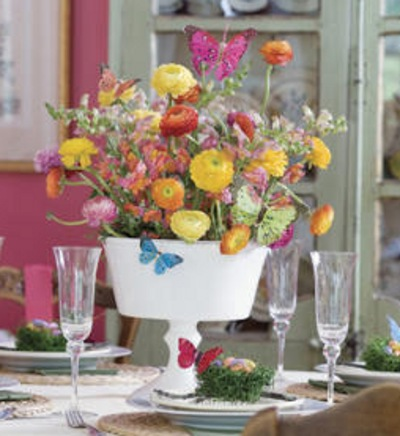 decoracin de centros de mesa