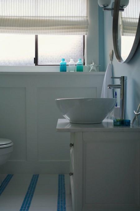 Iluminación para baños pequeños