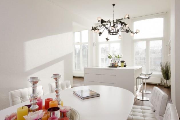 decoracion en blanco para cada habitacion