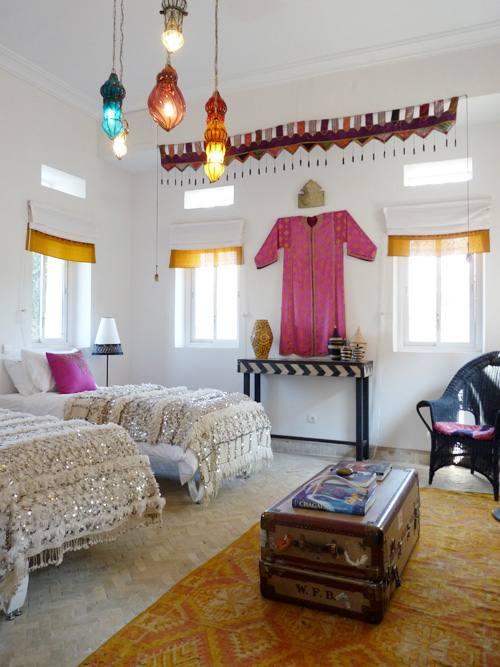 Decoraci n de estilo marroqu para interiores actuales for Decoracion marroqui