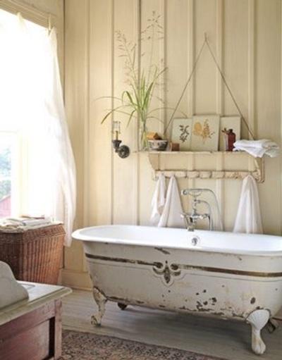 Adornos Baño Vintage:Decoración Estilo Vintage en el Baño