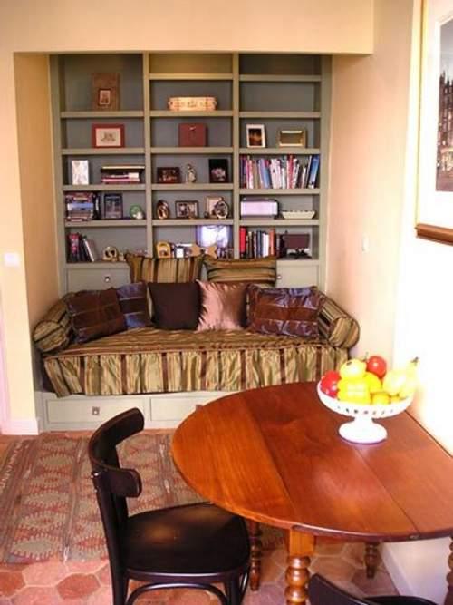 decoracion librerias estanterias casa 10 Decoración con Librerías y Estanterías para la Casa