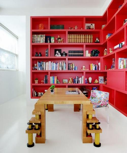 Decoraci n con librer as y estanter as para la casa - Estantes para librerias ...