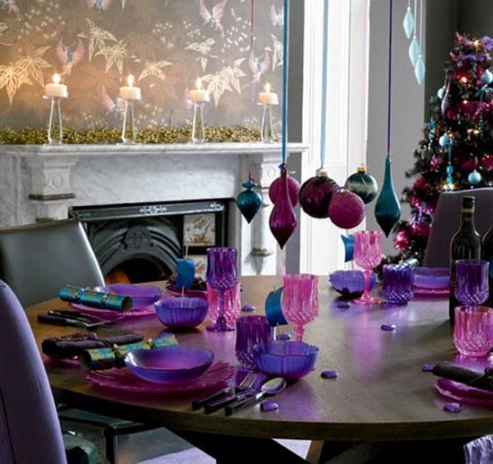 Navidad Decoracion Mesa ~ Puedes decorar la mesa con las ?ltimas tendencias , o dar vida a una