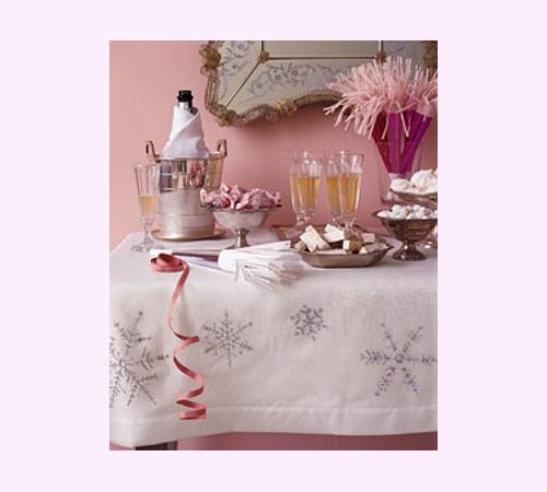 Decoraci n de navidad mantel para la mesa navide a - Decoracion navidena para la mesa ...