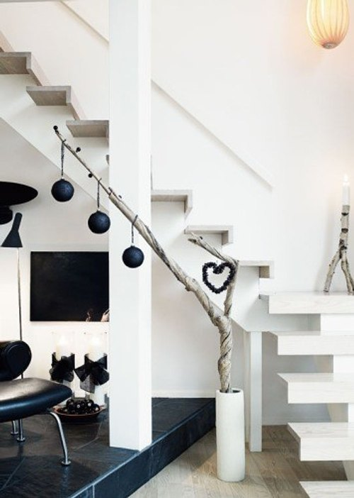 Decoraci n navidad minimalista y original - Decoracion casa original ...