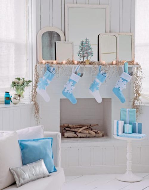 decoracion navidena para todas las habitaciones forrar cajas regalos Decoración Navideña para todas las Habitaciones