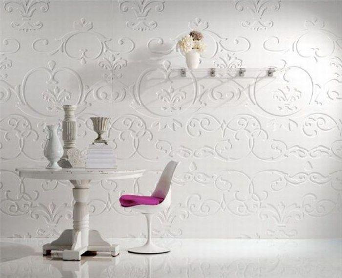 Decoraci n de paredes con paneles decorativos una moderna - Paneles decoracion paredes ...