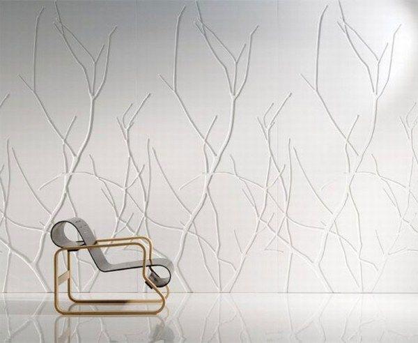 Decoraci n de paredes con paneles decorativos una moderna - Elementi decorativi in polistirolo per interni ...