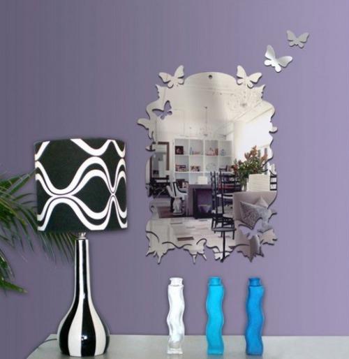 Decoraci n de paredes con vinilos de espejos - Vinilos de decoracion paredes ...