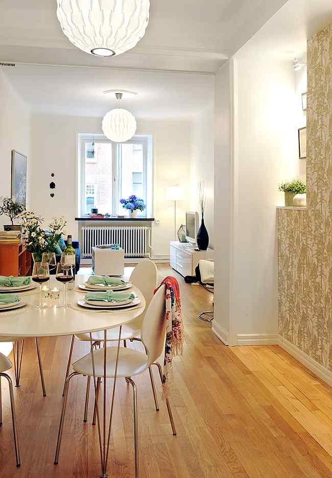 Decoraci n de pisos peque os - Soluciones para pisos pequenos ...