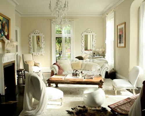 Sala de estar Decoracion-romantica-original-sala