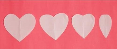 decoracion san valentin guirnalda corazones tela 2 Decoración San Valentín: Guirnaldas de Corazones de Tela