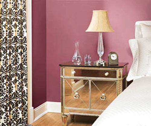 decoracion tonos vino 2 Decoración con Colores Vino