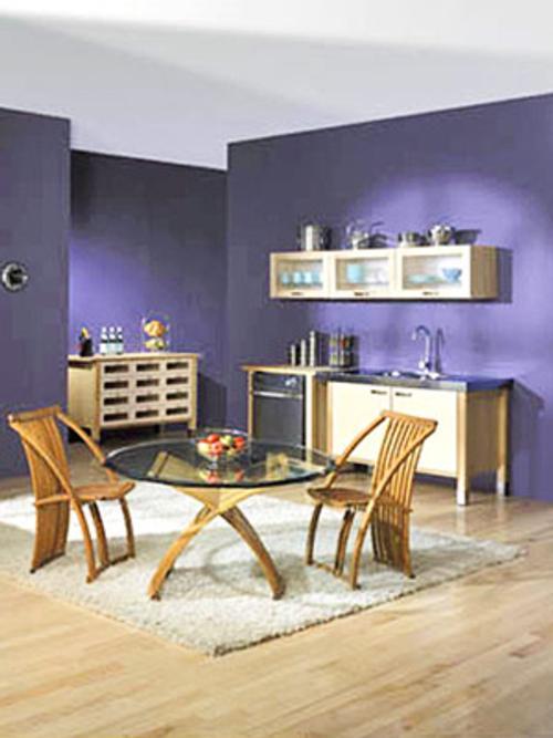 decoracion tonos vino 5 Decoración con Colores Vino