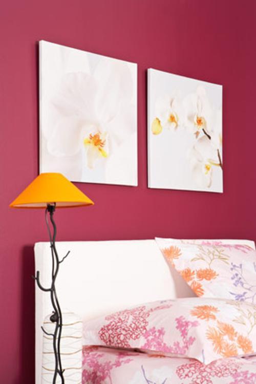 decoracion tonos vino 7 Decoración con Colores Vino