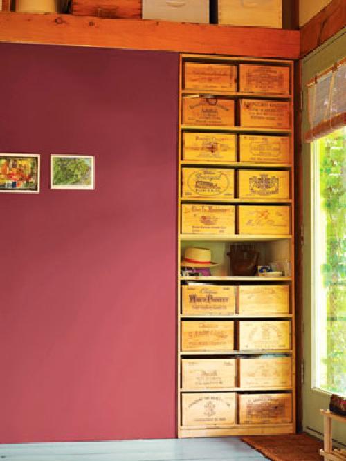 decoracion tonos vino 8 Decoración con Colores Vino