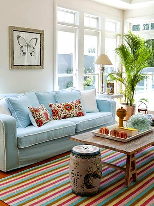 Ideas para decorar la casa en verano for Decoracion original casa