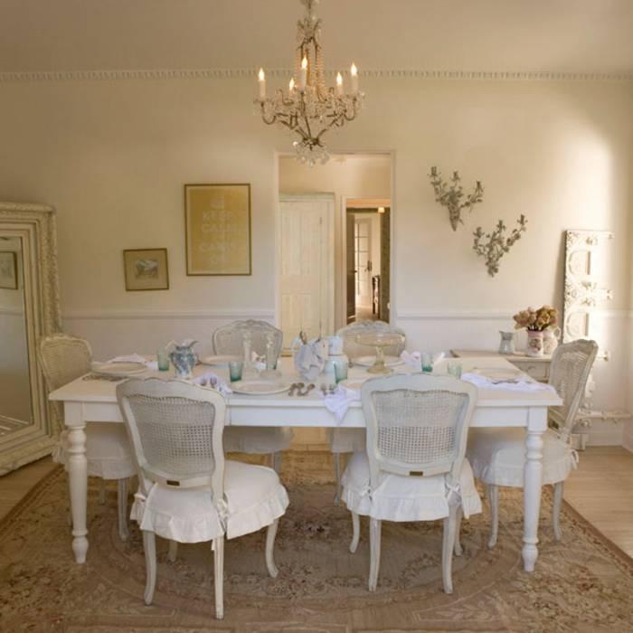 decorando con blanco el comedor