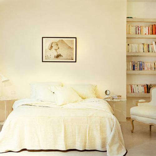 decorando con blanco dormitorio 1 Decoración en Blanco sobre Blanco