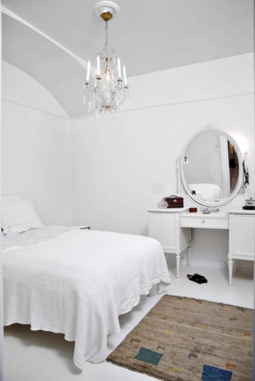 decorando con blanco dormitorio Decoración en Blanco sobre Blanco