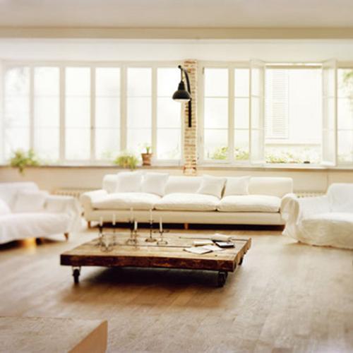 salones blancos y modernos