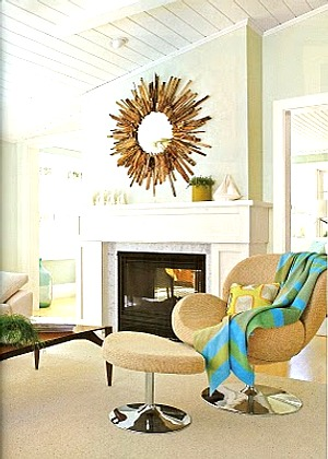 decorar ambientes con chimeneas