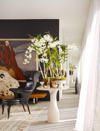decorar con blanco y negro